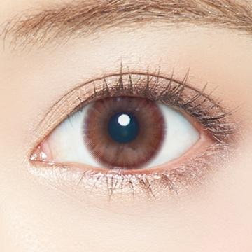 EverColor 自然保湿UV防晒日抛型美瞳 Innocent Glam 20枚 -4.50