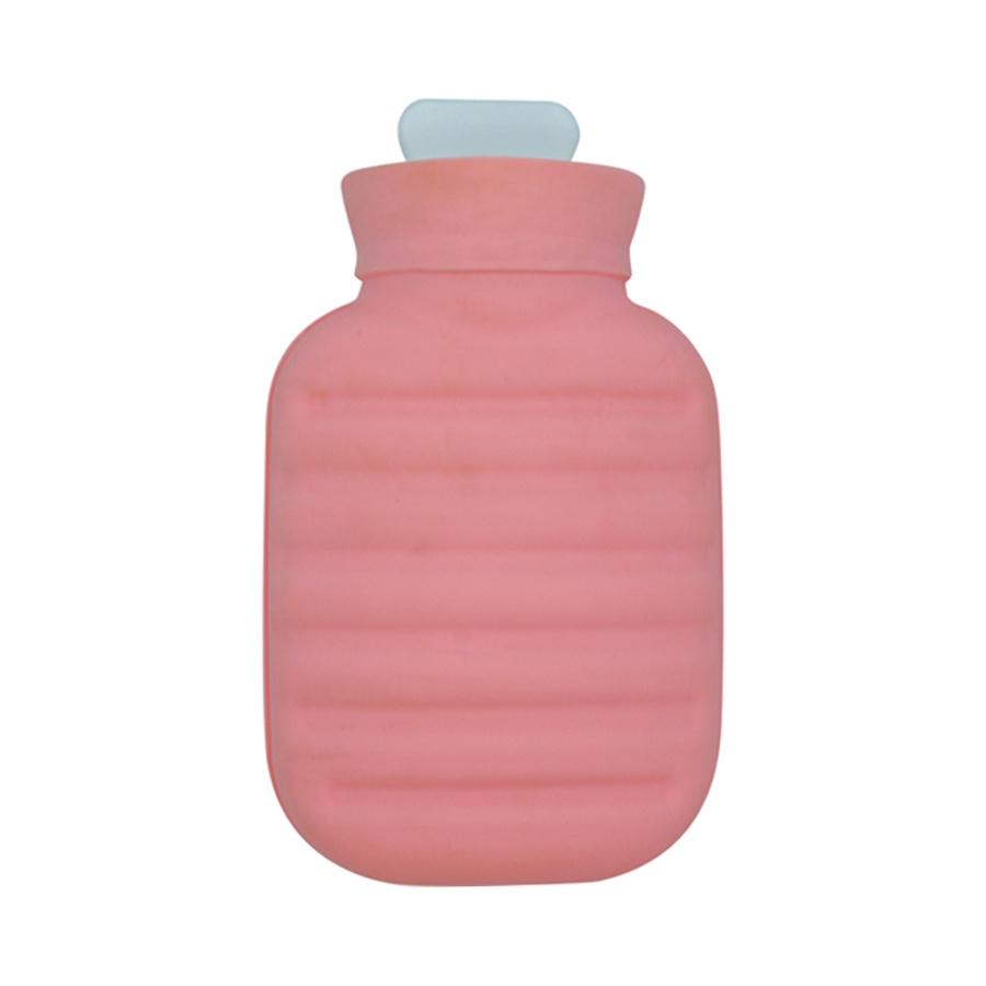 DOSHISHA 同志社 POCATAN迷你毛绒防爆暖手宝暖水袋 粉色 1.0L