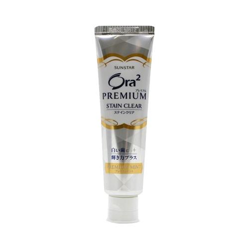 SUNSTAR Ora2皓乐齿 强效去牙渍牙膏 强力薄荷 100g