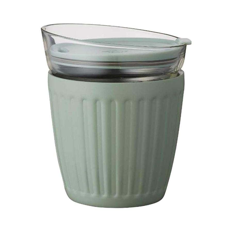 DOSHISHA 同志社 真空双层构造保温杯 豆沙绿 180ml