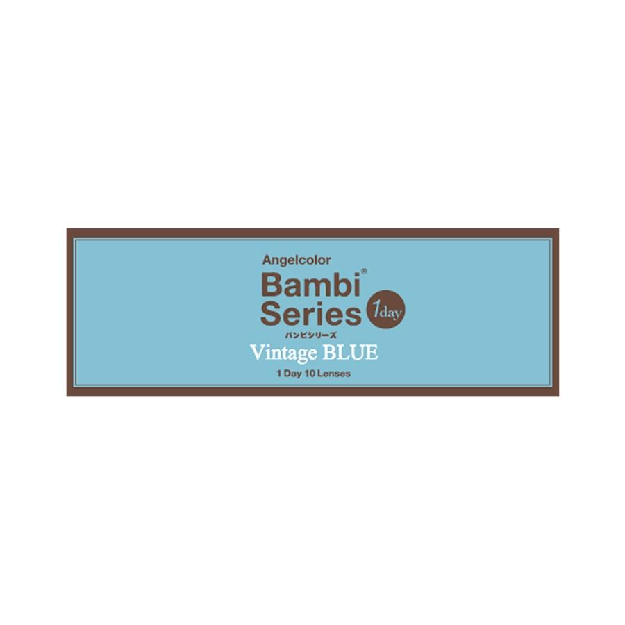 AngelColor Bambi系列日抛型美瞳 复古蓝色 10枚 -4.25