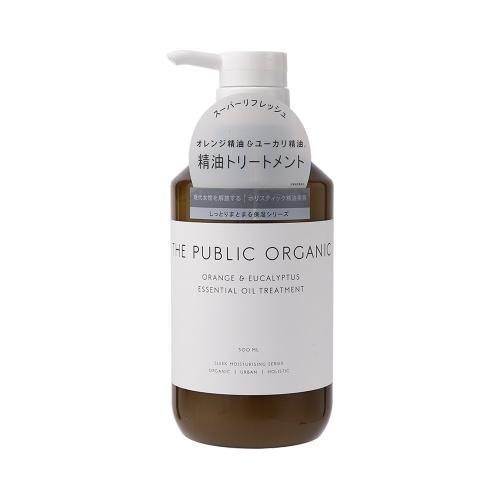 THE PUBLIC ORGANIC 有机植物精油无硅护发素 柑橘保湿滋润型 500ml