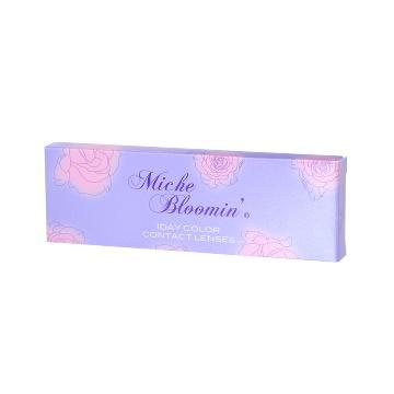 Miche Bloomin 日抛美瞳 朦胧琥珀色 10枚 ±0.00
