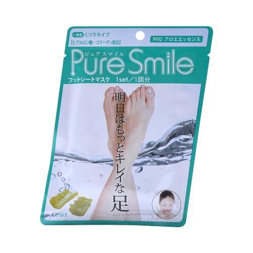 Pure Smile 芦荟精华脚膜 1组