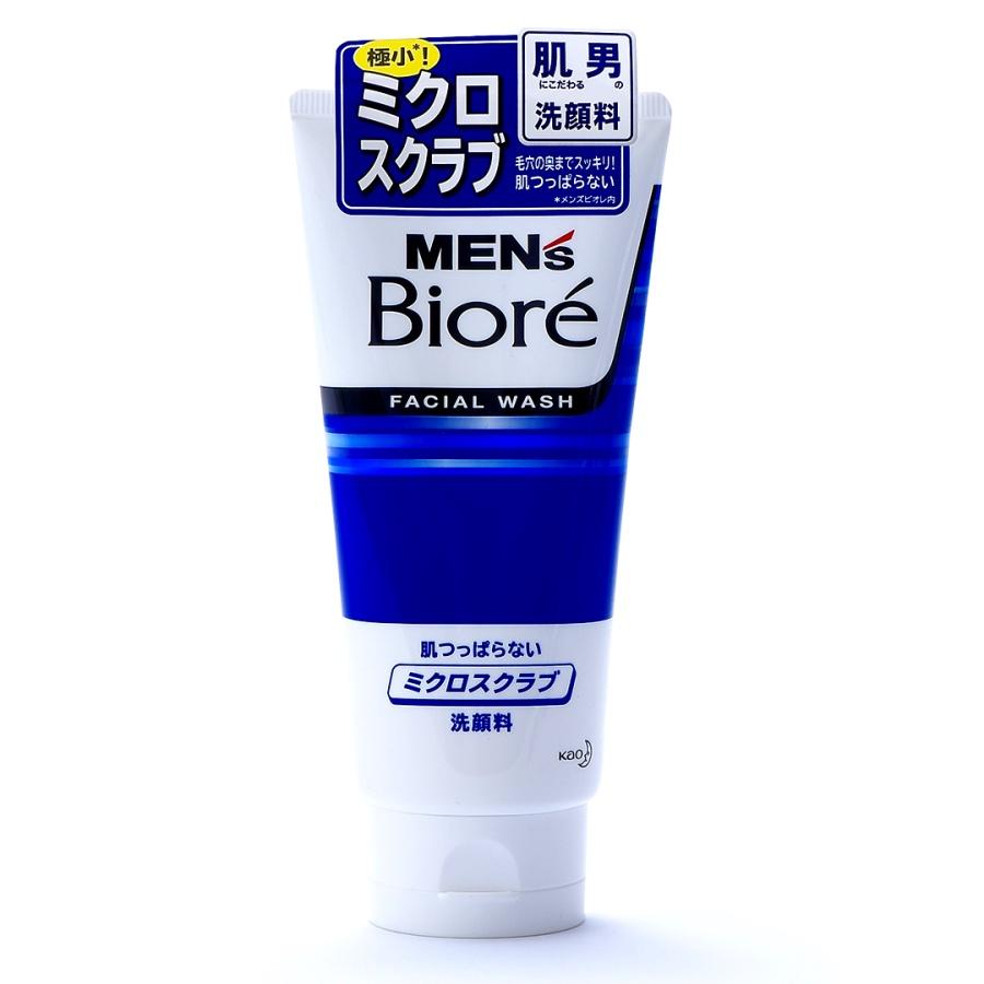 Biore 碧柔 男士细腻颗粒磨砂洗面奶 130g