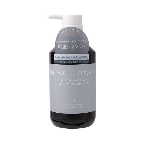 THE PUBLIC ORGANIC 有机植物精油无硅洗发水 薰衣草清爽丰盈型 500ml