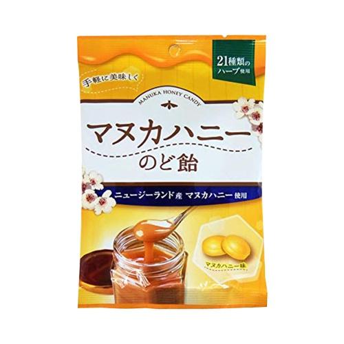 senjakuame 扇雀饴本铺 麦卢卡蜂蜜薄荷润喉糖 55g