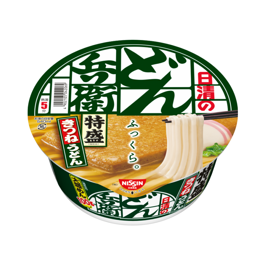 NISSIN 日清 Don兵卫 特大油豆腐乌冬面 130g/盒
