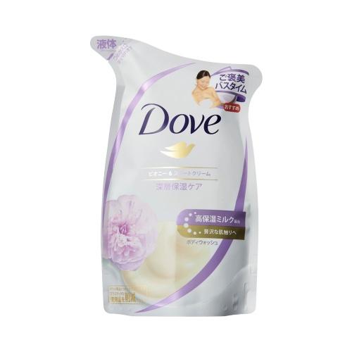 unilever 联合利华 多芬 深层滋养高保湿沐浴露 芍药甜奶油香 替换装 340g
