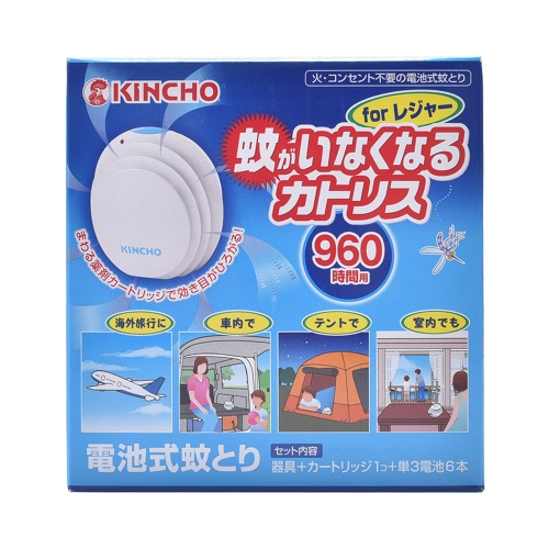 KINCHO 金鸟 电池式电子驱蚊器 281g