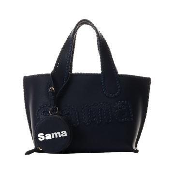 Samantha Thavasa 简约手提包 小款 藏青色