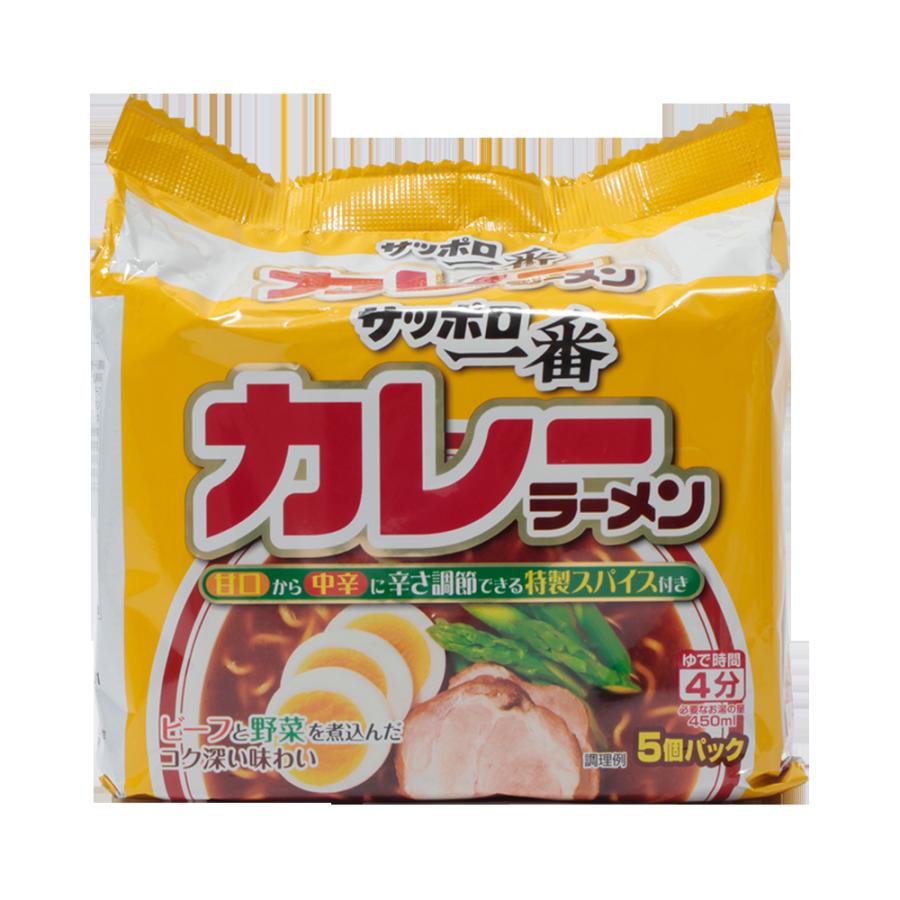 札幌一番 咖喱味拉面 5包