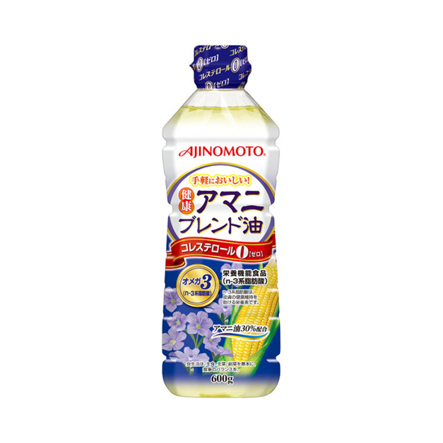 AJINOMOTO 味之素 健康紫苏籽混合油 600g 1个