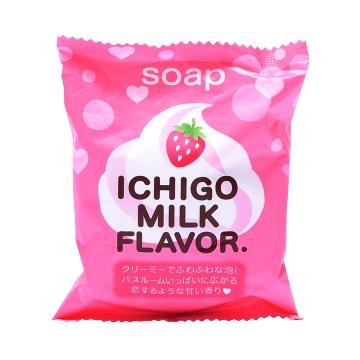PELICAN 派力康 保湿嫩肤香皂 草莓牛奶型 80g